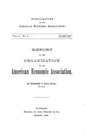 Publications of the American Economic Association: Volume 1