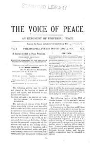 The Voice of Peace PDF