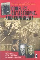 Conflict  Catastrophe and Continuity PDF