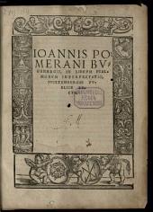 In Librum Psalmorum Interpretatio