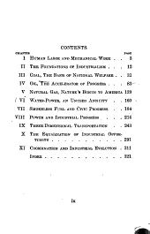 America's Power Resources: The Economic Significance of Coal, Oil and Water-power