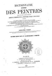 Dictionnaire historique des peintres de toutes les écoles depuis l'origine de la peinture jusqu'à nos jour par Adolphe Siret