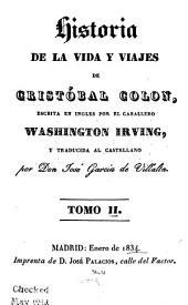 Historia de la vida y viajes de Cristóbal Colon: Volumen 2