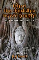 What the Buddha Never Taught PDF