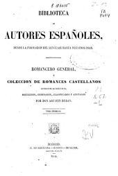 Romancero general: Volumen 1