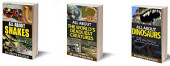 All About the World's Deadliest and Dangerous Animals - Dinosaurs, Snakes, Tigers, Lions, Bears, Crocodiles, Sharks, Wolves, Bees and More!: 3 Book Bundled Collection of Dangerous and Deadly Animals