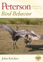 Peterson Reference Guide to Bird Behavior PDF