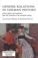 Gender Relations German Histor PDF