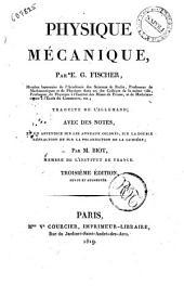Physique mecanique, par E. G. Fischer