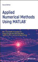Applied Numerical Methods Using MATLAB PDF