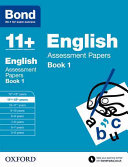 Bond 11  English Assessment Papers 11 12 Years