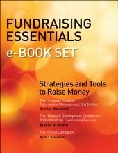 Fundraising Essentials e-book Set: Strategies and Tools to Raise Money