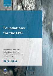 Foundations for the LPC 2013 14 PDF