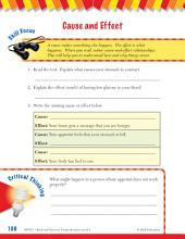 Read & Succeed Comprehension Level 4: Cause and Effect Passages and Questions