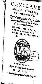 Conclave animae fidelis