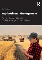 Agribusiness Management PDF
