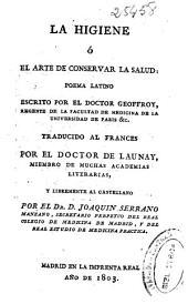La higiene o el arte de conservar la salud: poema latino