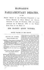 Hansard's Parliamentary Debates: Volume 210