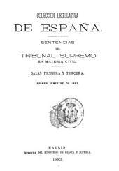 Sentencias del Tribunal Supremo en materia civil: Volumen 1