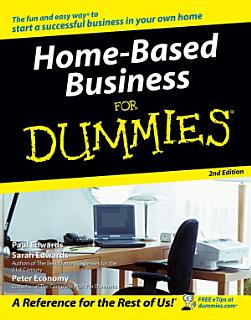 Home Based Business For Dummies Book