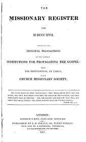 Missionary Register: Volume 5