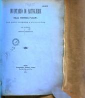 Inventario di artiglieri della fortezza Paolina, con note storiche e filologiche