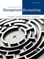 Introduction to Management Accounting PDF