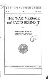 The War Message and Facts Behind it