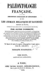Paléontologie française: Terrains crétacés. t. 1. [Cephalopoda]. 1840-1842. Suppl., 1847. t. 2. [Gasteropoda]. 1842-1843