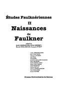 Naissances de Faulkner PDF