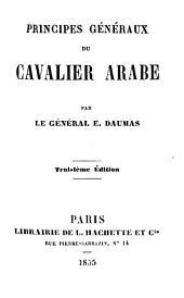 Principes généraux du cavalier arabe