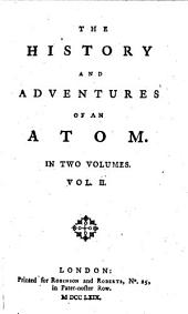 The History and Adventures of an Atom: In Two Volumes, Volume 2
