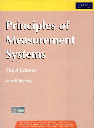 Principles Of Measurement Systems  3 E