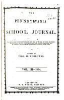 Pennsylvania School Journal PDF