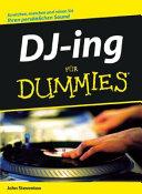 DJ ing f  r Dummies PDF