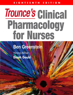 Trounce s Clinical Pharmacology for Nurses E Book PDF