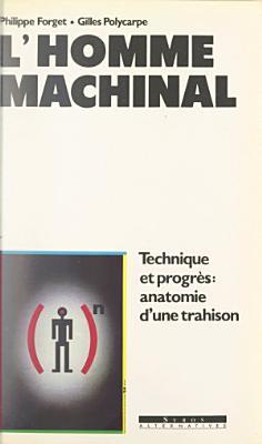 L homme machinal PDF