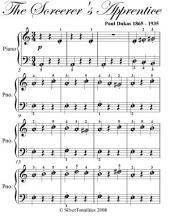 Sorcerer's Apprentice Beginner Piano Sheet Music