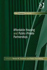 Affordable Housing and Public Private Partnerships PDF