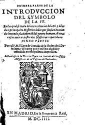 Primera parte de la introducción del symbolo de la fe