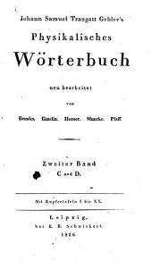 Physikalisches Wörterbuch: C und D. 2
