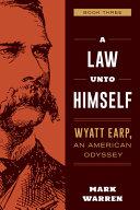 Wyatt Earp Novel  Book 3 PDF