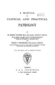A Manual of Clinical and Practical Pathology PDF