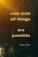 With God All Things are Possible   Matthew 19 PDF