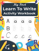 My First Learn to Write Activity Workbook PDF