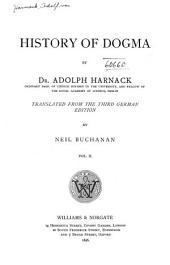 History of Dogma: Volume 2