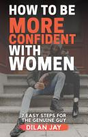 How to Be More Confident with Women PDF