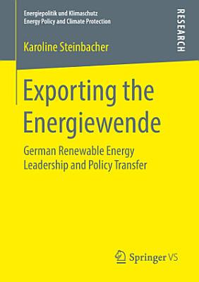 Exporting the Energiewende
