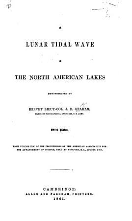 A Lunar Tidal Wave in the North American Lakes PDF