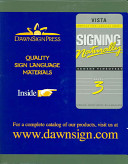 Signing Naturally Level 3 Book